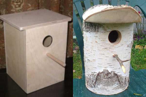 Гнездовой ящик и дуплянка