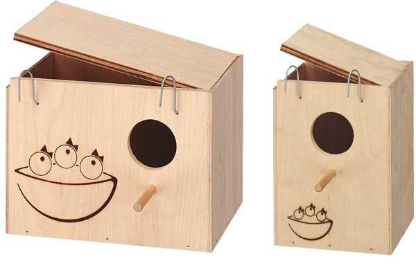 Горизонтальный и вертикальный гнездовые домики
