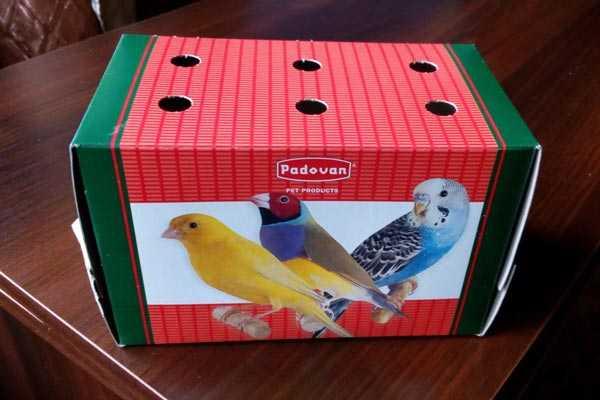 коробка для перевозки птиц