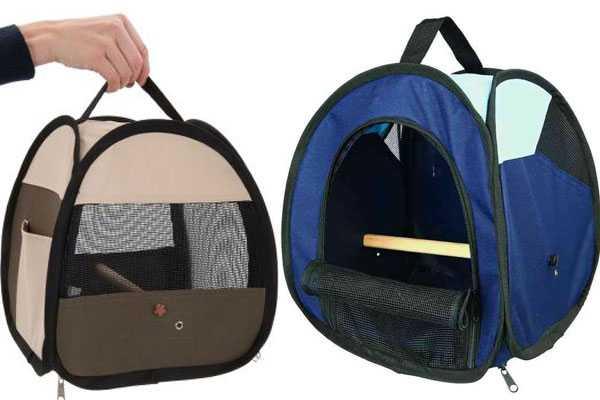 сумки для перевозки птиц